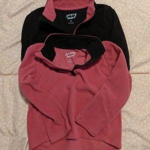 Toddler Girl fleece jacket bundle 4t